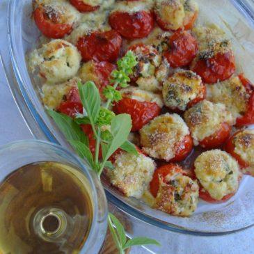 Cherry paradajzići punjeni sirom