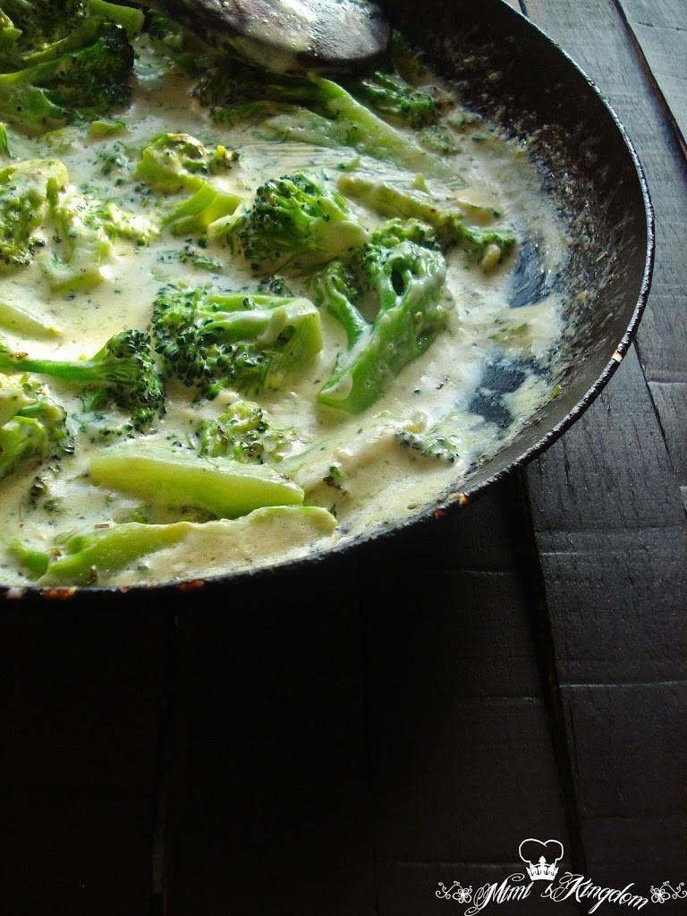 Brokoli u finom sosu 2
