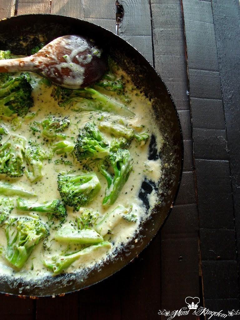 Brokoli u finom sosu 1