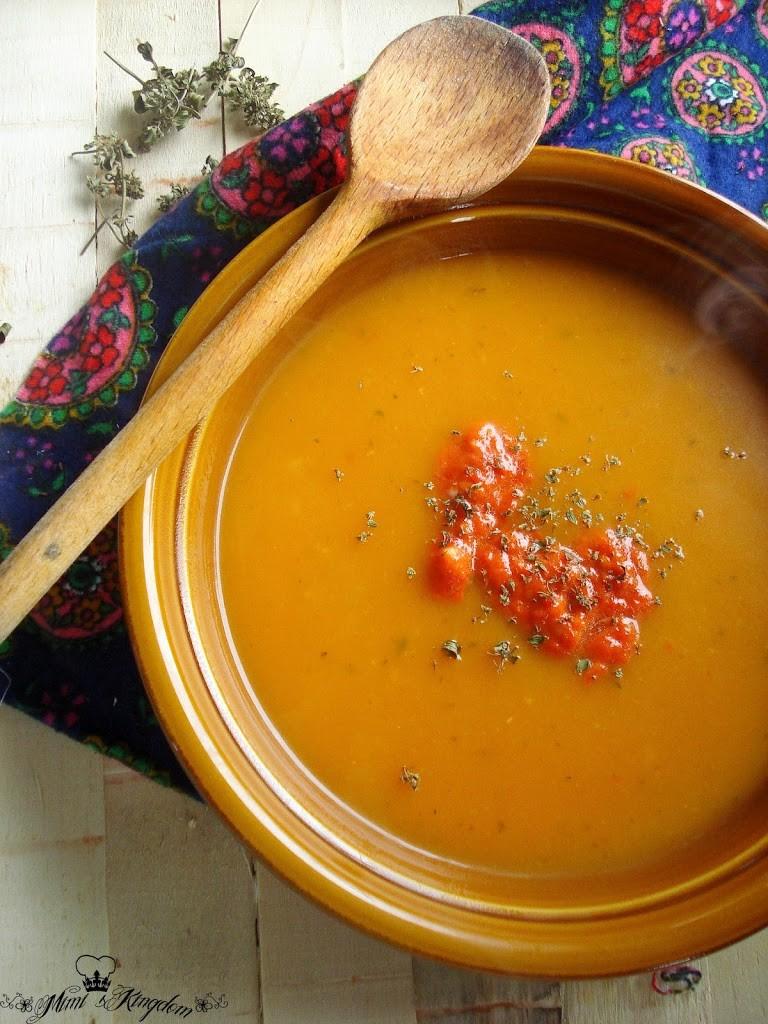 Čorba od bundeve i pečene paprike 1