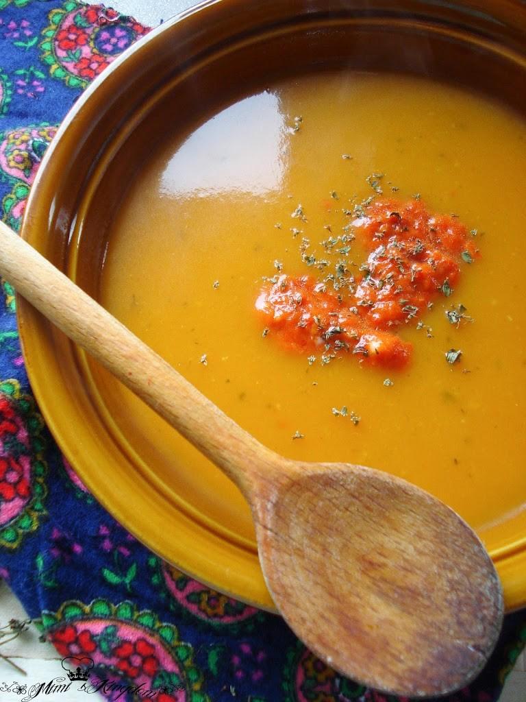 Čorba od bundeve i pečene paprike 2