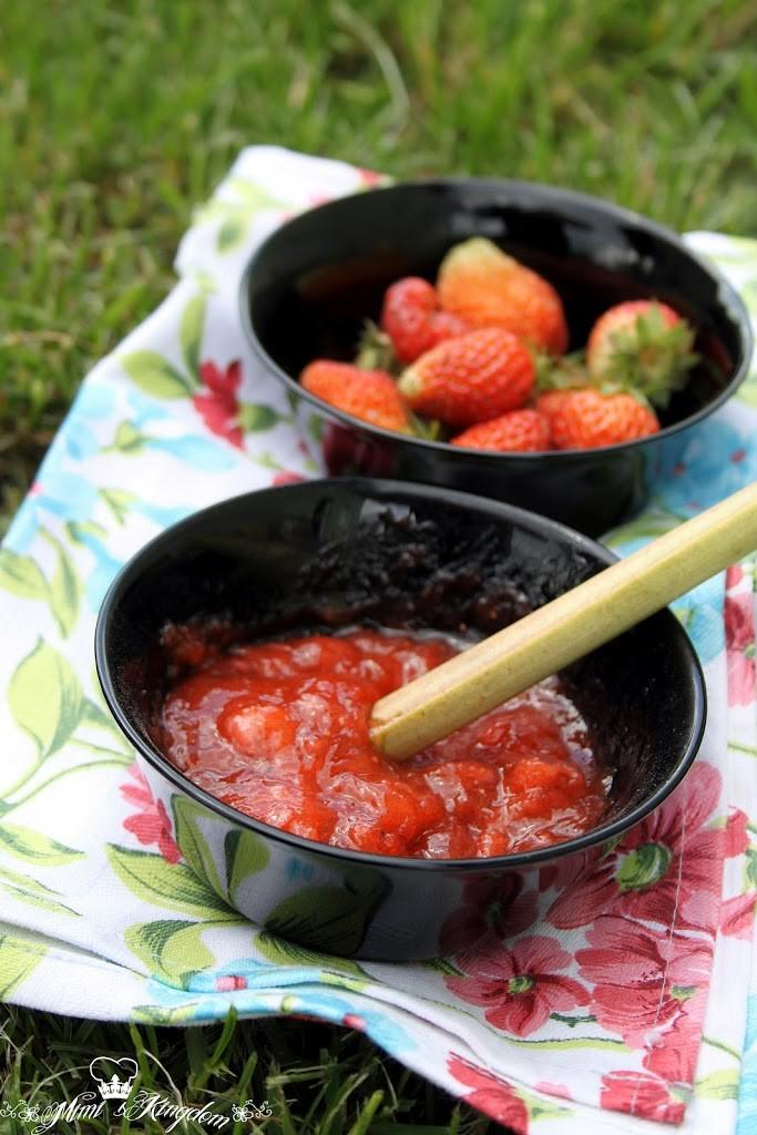 Džem od jagoda i rabarbare