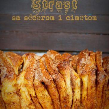 kuVarijacije: Strast sa šećerom i cimetom (Cinnamon Sugar Pull-Apart Bread)
