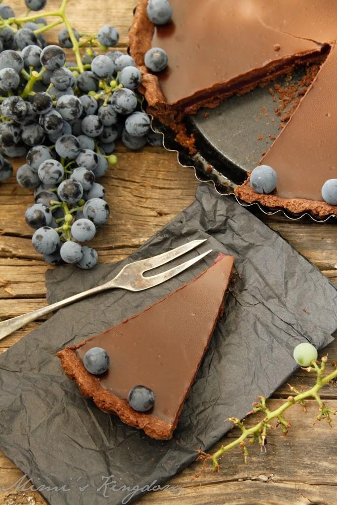 čokoladni tart sa grožđem 2