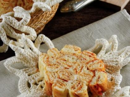 spiralni mramorni hleb 1