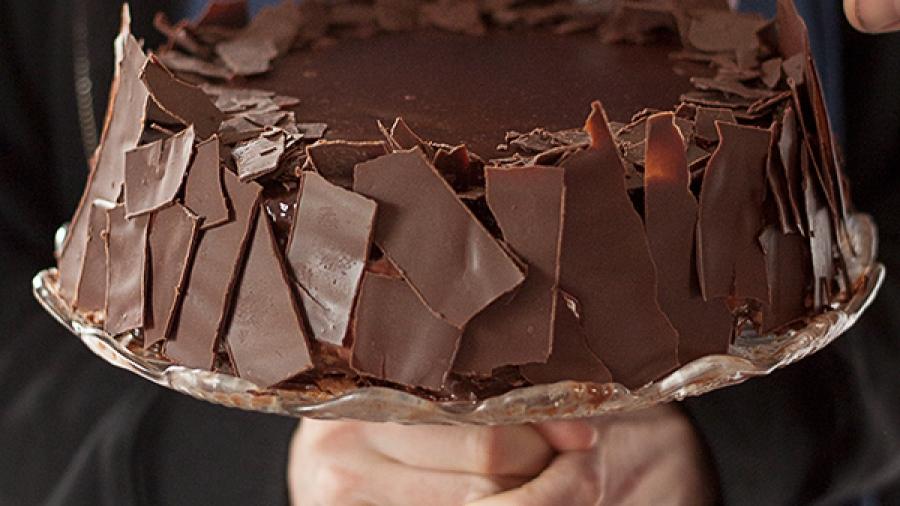 čokoladna torta sa ribizlama 4