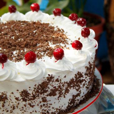 Švarcvald torta (Schwarzwälder kirschtorte)