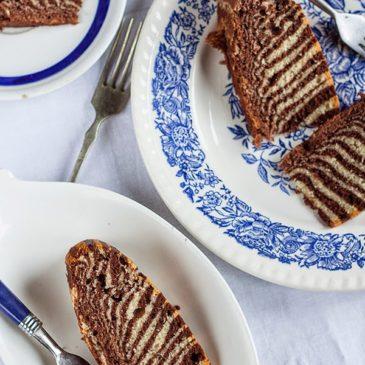 kuVarijacije – Zebra kolač