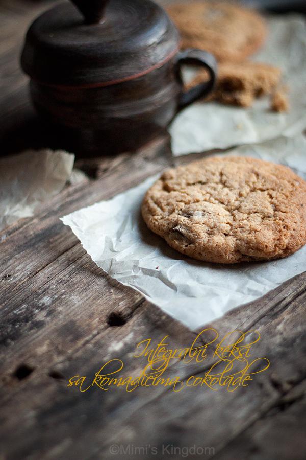 Integralni keksi sa čokoladom 2