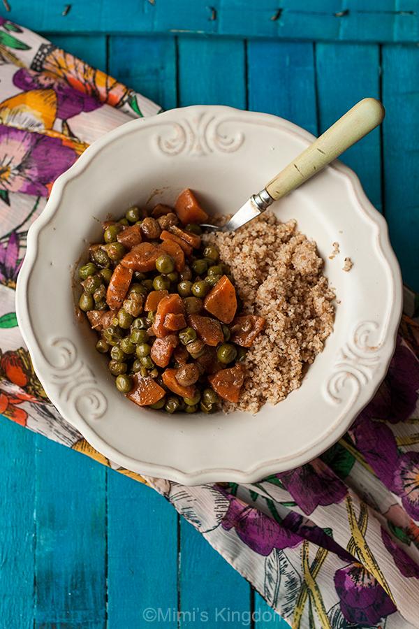 Kus-kus sa povrćem 1