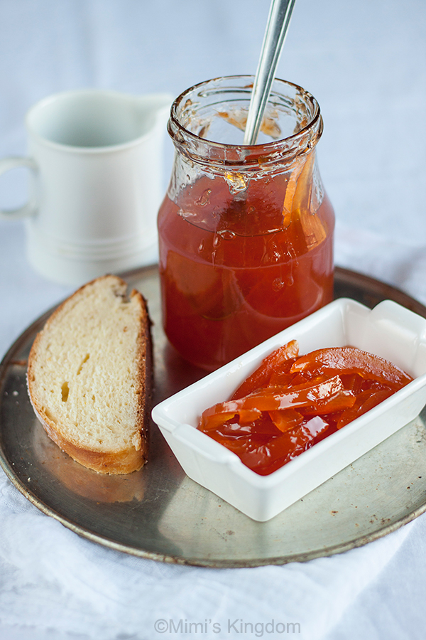 Marmelada od crvenog grejpa 1