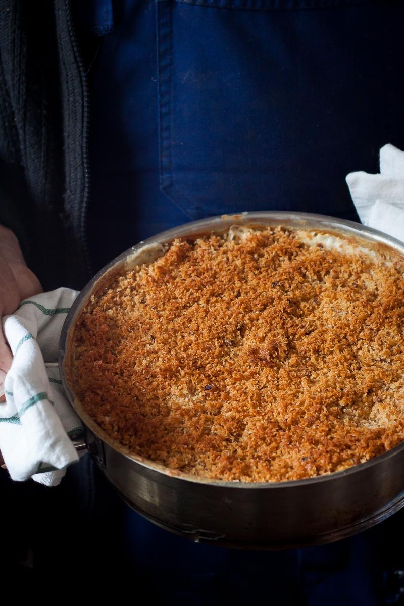 Sočni makaroni sa puno sira i hrskavim slojem