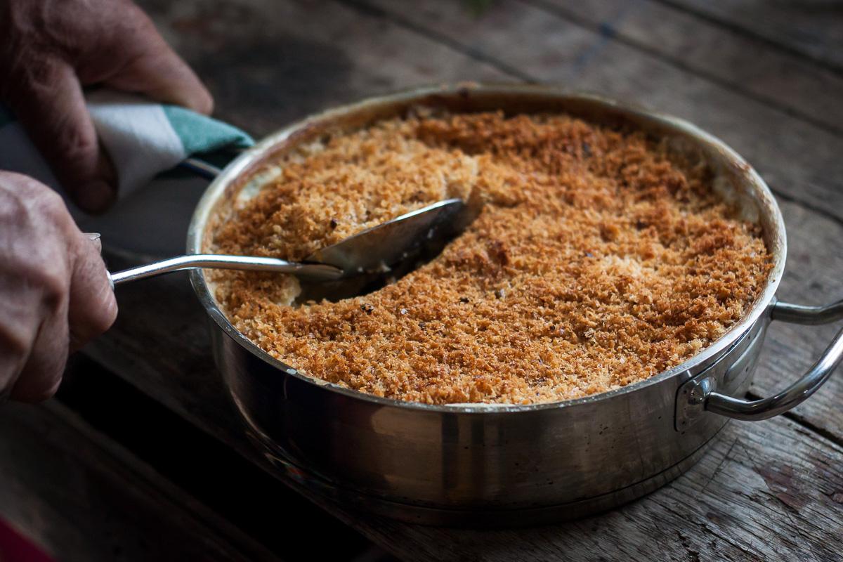 Super sočni makaroni sa sirom i aromatičnim slojem