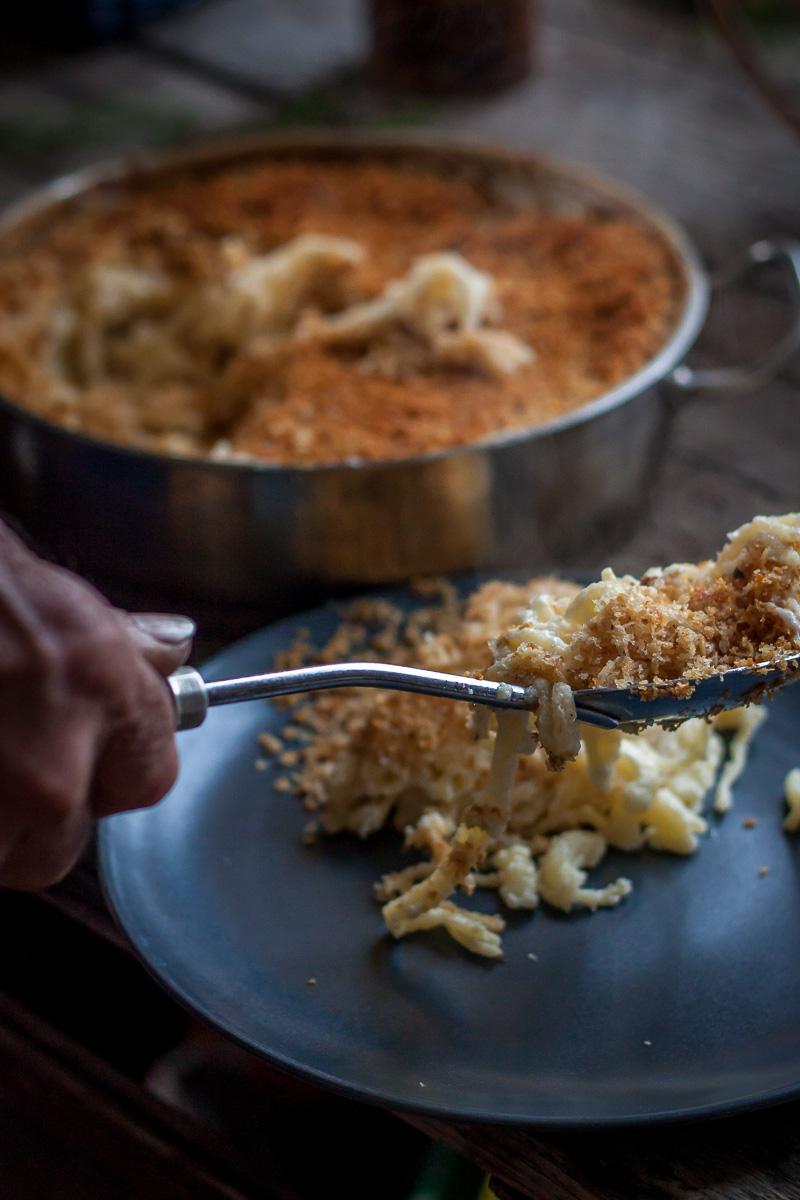 Porcija makarona sa sirom