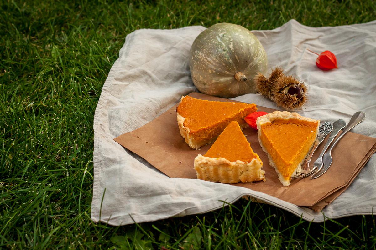 Isečena pita od bundeve - Pumpkin Pie