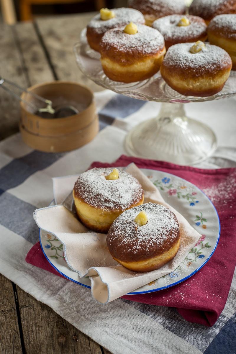 italijanske krofne sa vanil kremom