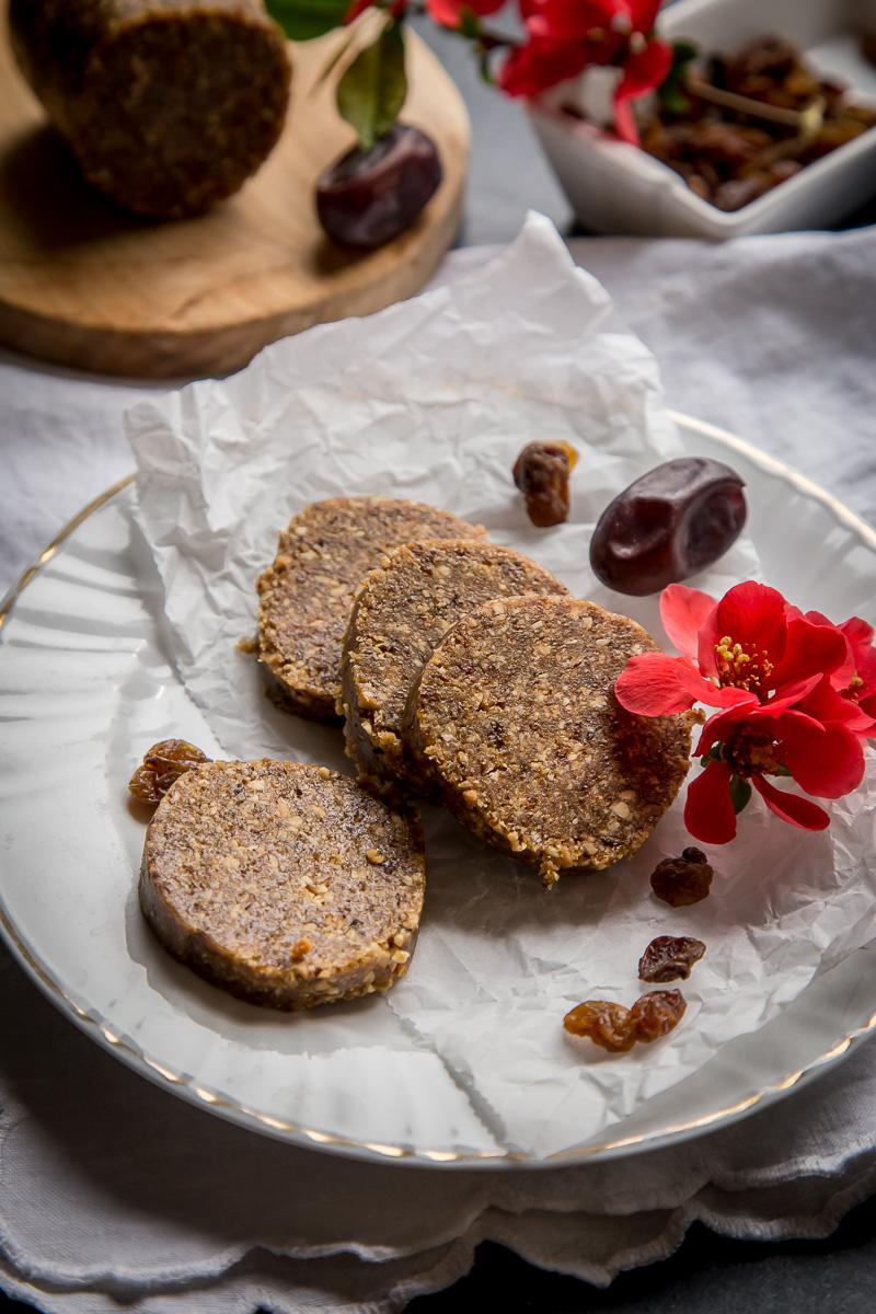 Energetske plocice sa kikirikijem i suvim grozdjem