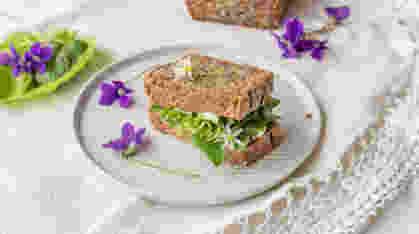 Zdravi hleb od celog zrna heljde