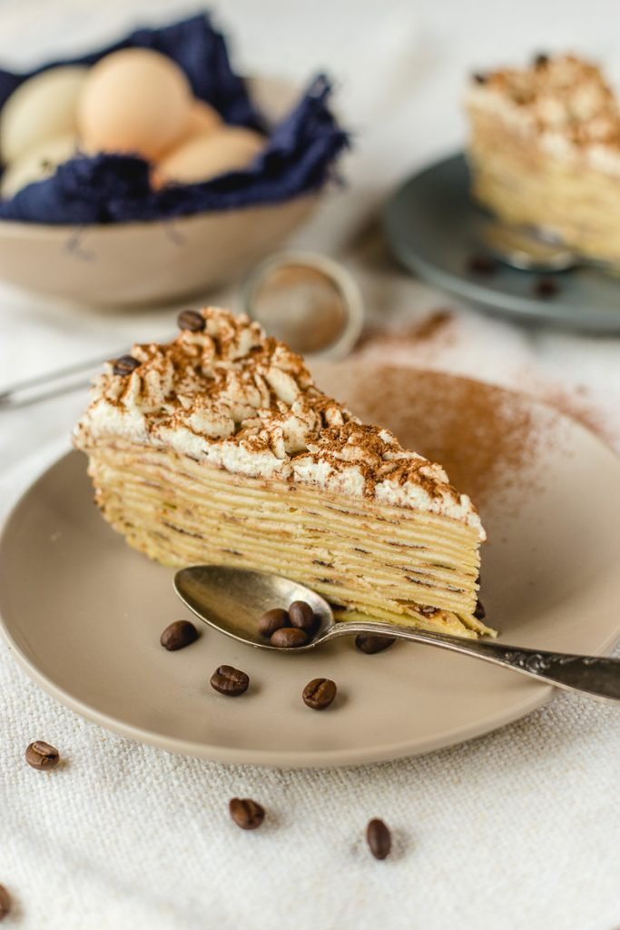 Tiramisu torta od palačinki sa maskarponeom