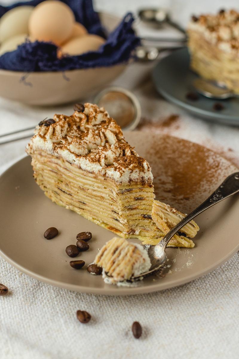 Tiramisu torta od palačinki
