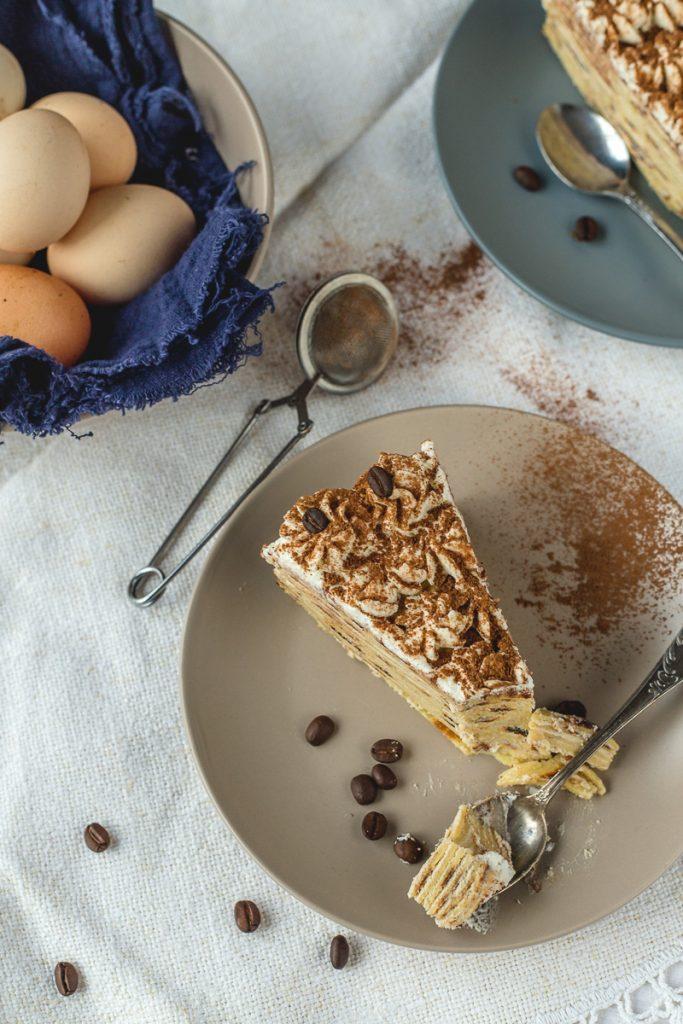 Predivna tiramisu torta od palačinki sa maskarponeom