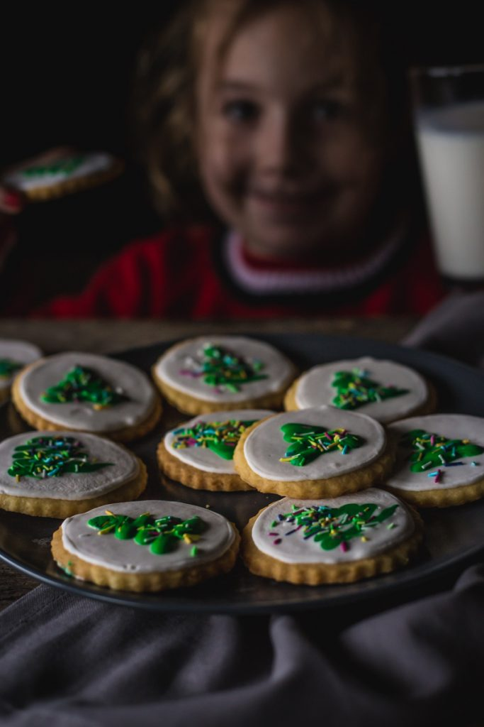 teja jede divne vanil kekse dekorisane