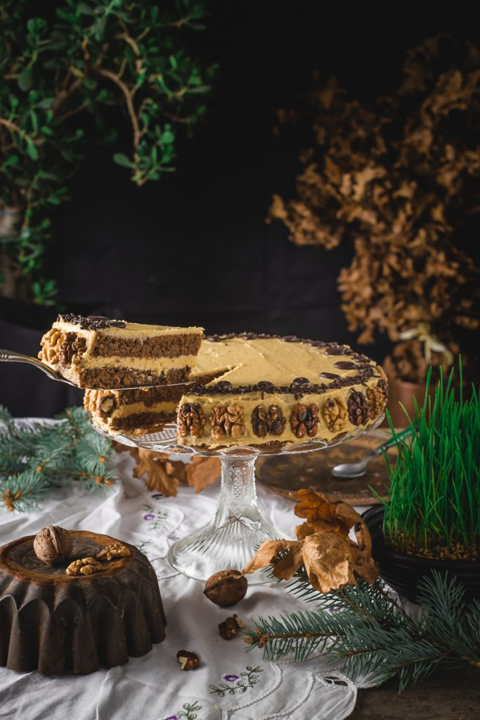 Puterasta torta sa kafom