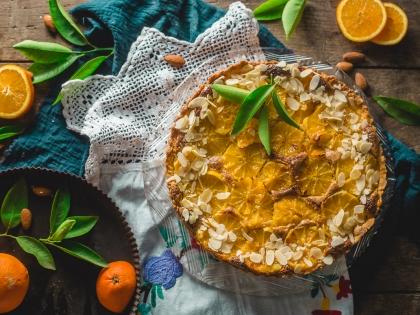 Tart sa pomorandžama i bademima