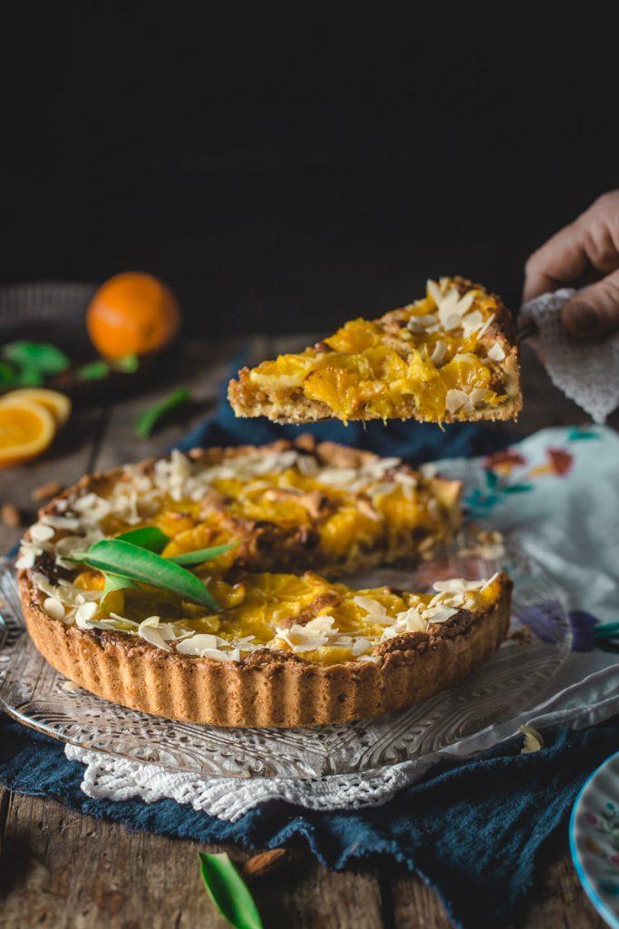 Tart od pomorandže i badema