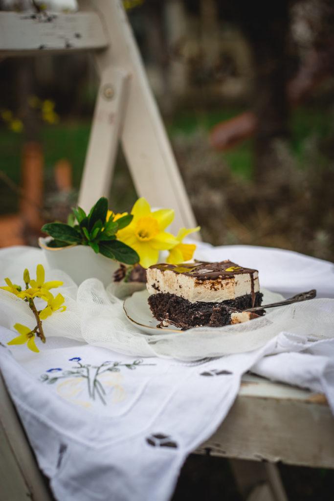 Penušavi čokoladni kolač Mančmelou