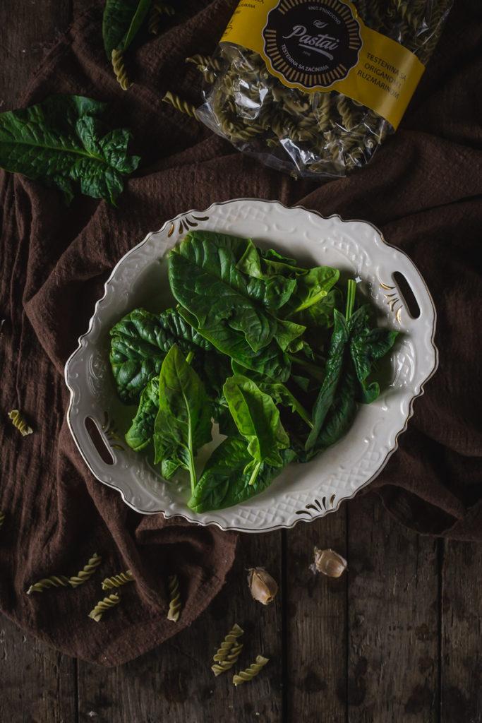 spanać spinach