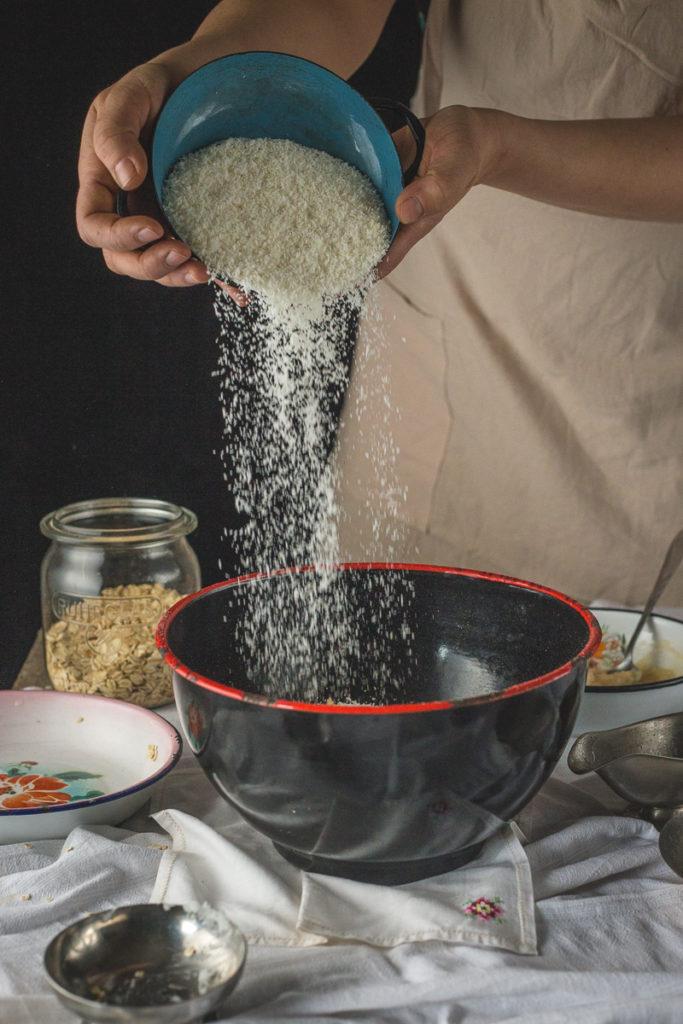kokos u granolu