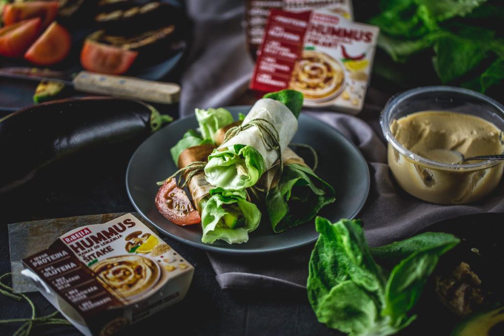 zeleni zamotuljci sa humusom