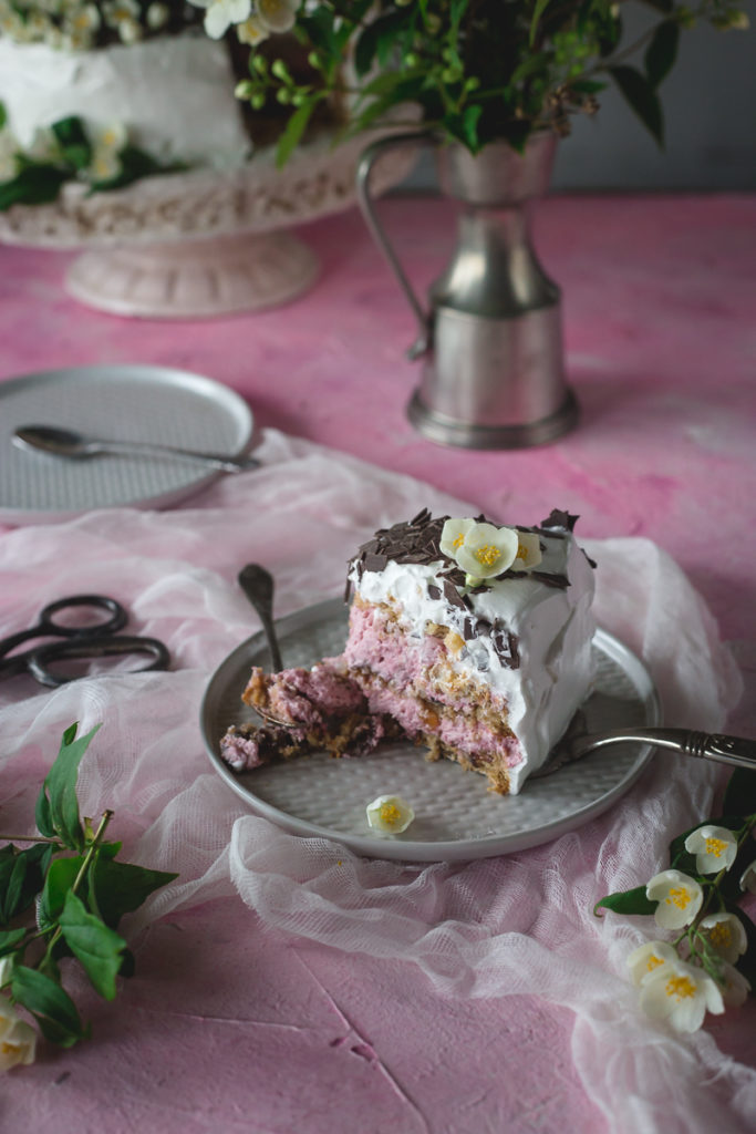 parče torte od malina