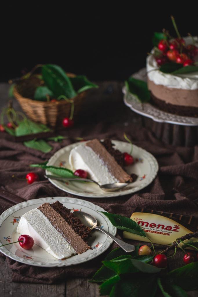 savršena mus torta sa tri vrste čokolade