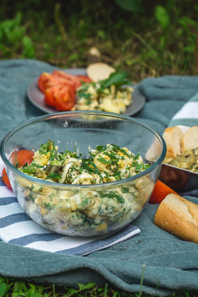 Kremasta krompir salata