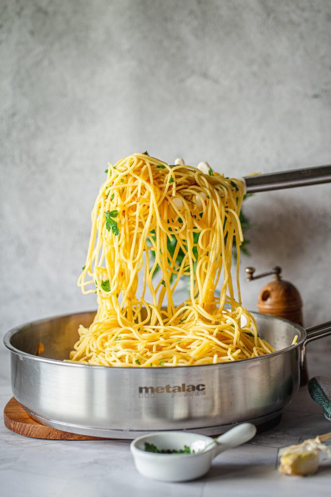 savršene špagete sa belim lukom