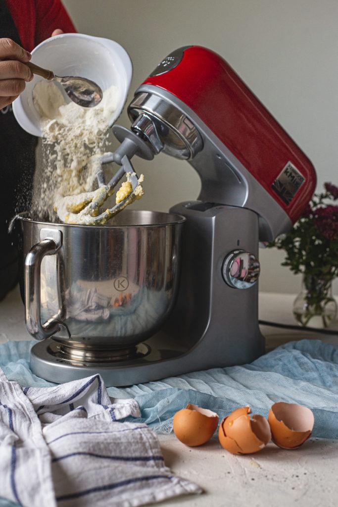 dodavanje brašna kenwood