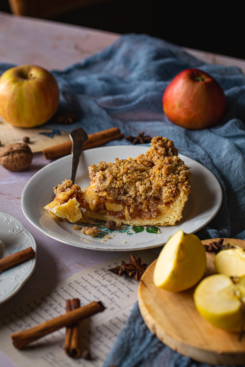 Holandska pita od jabuka parče