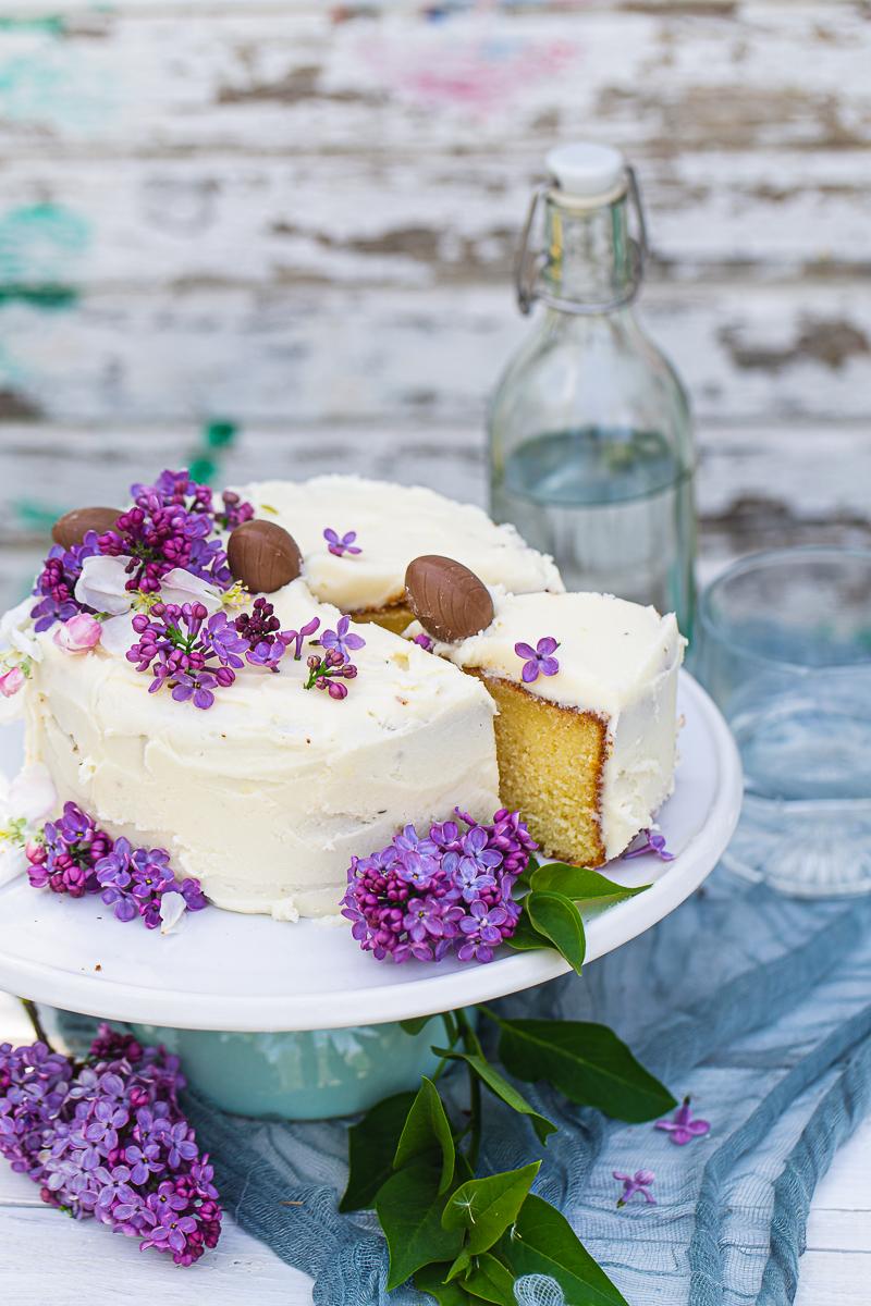parče jednostavne torte sa rikotom