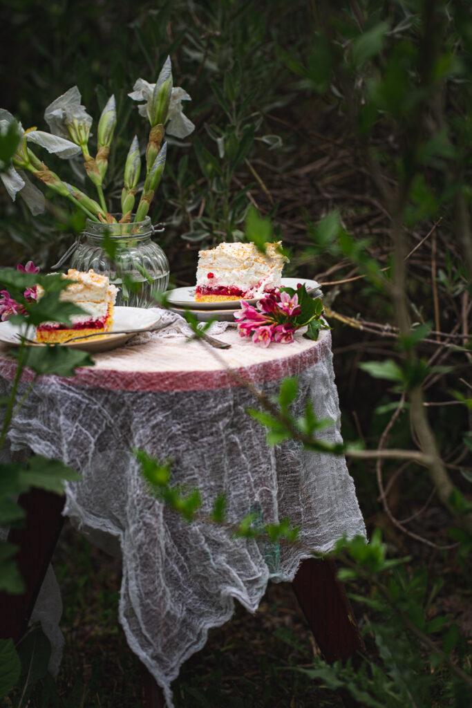 kolač sa ribizlama