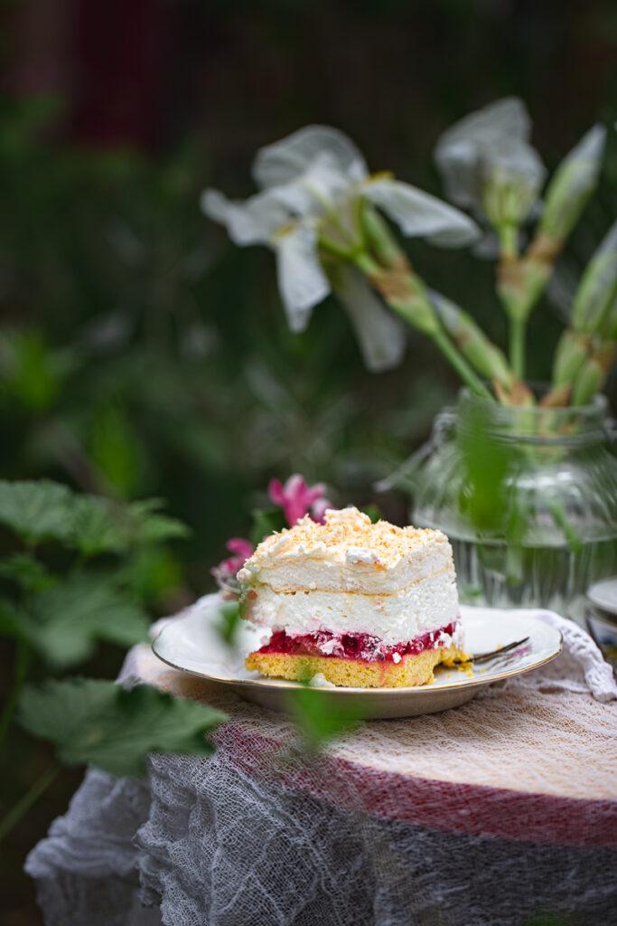 parče kolača sa ribizlama