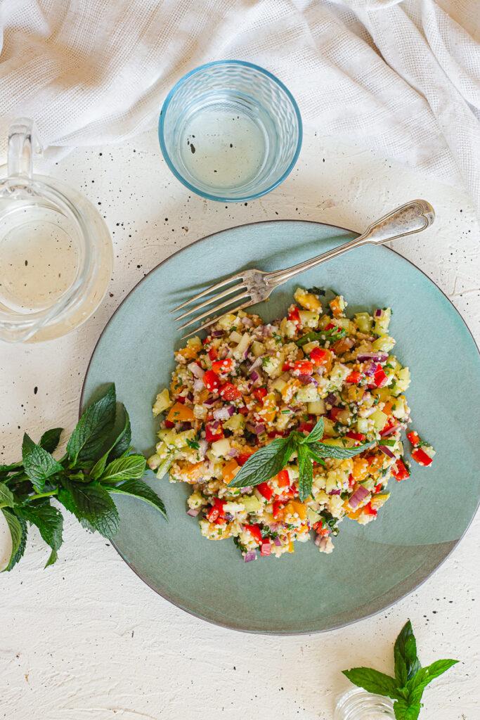 Izraelska salata sa kus kusom