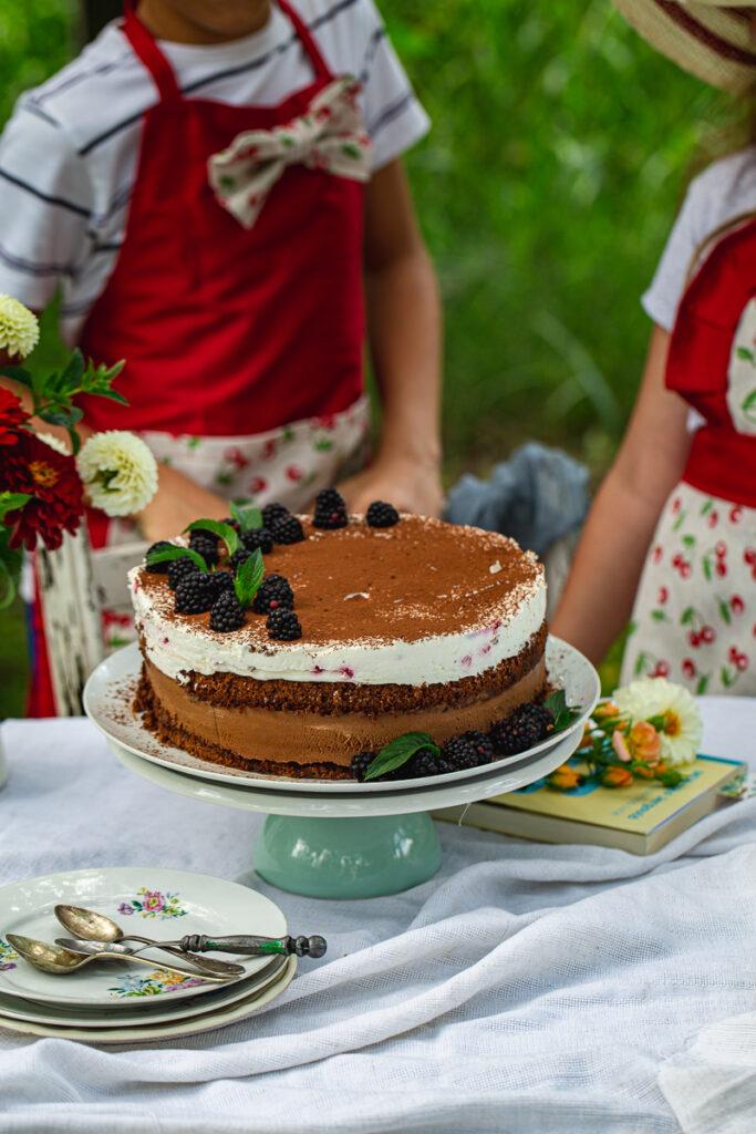 Mus torta i deca