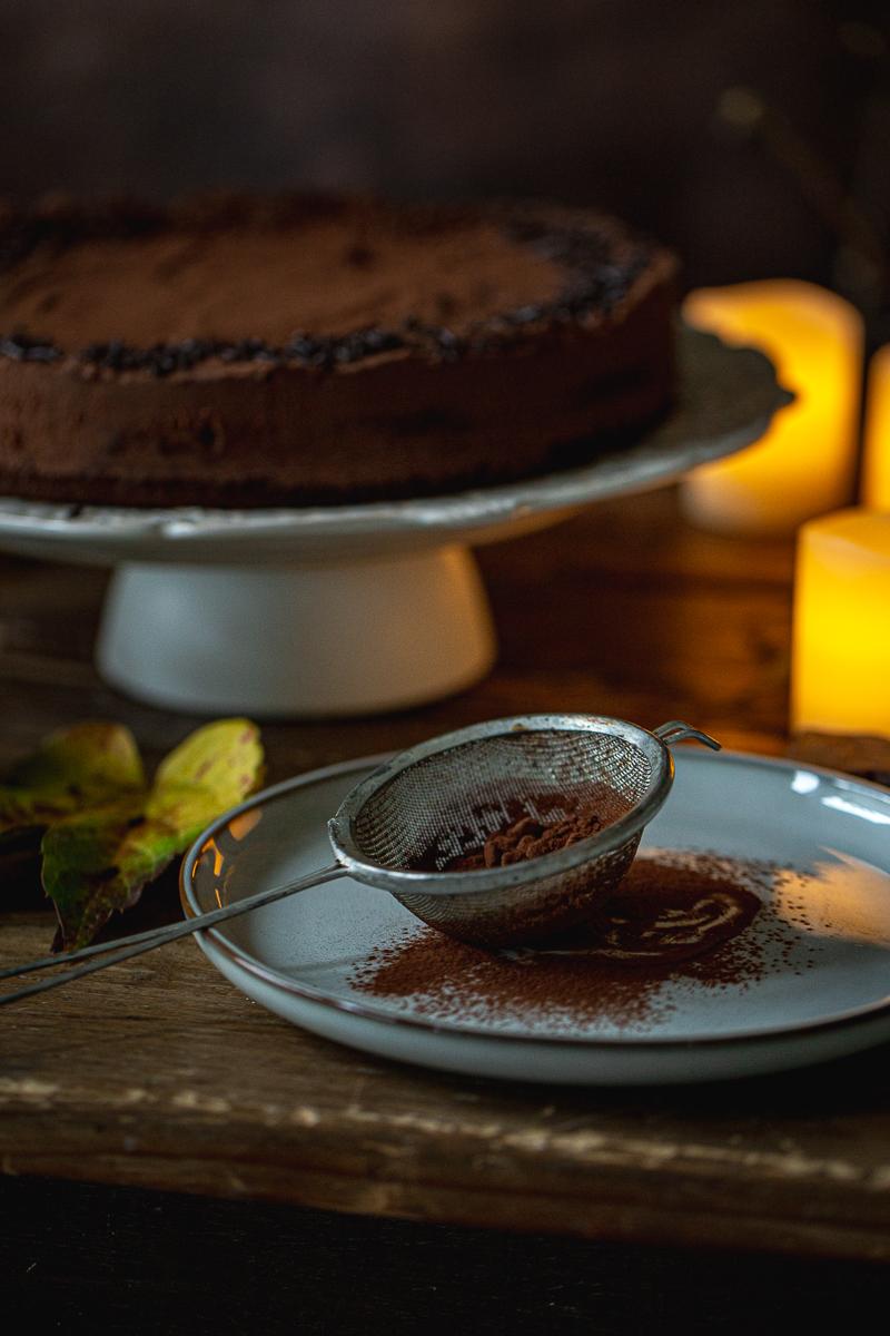 Kakao i kesten torta