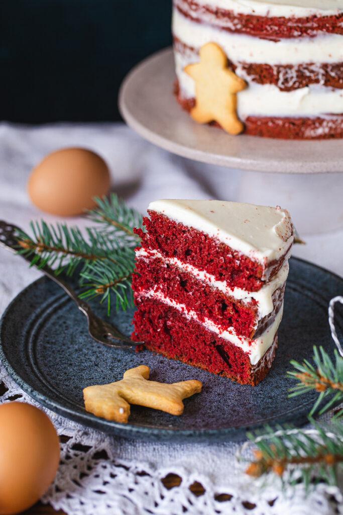 Red Velvet cake i dousha stalak